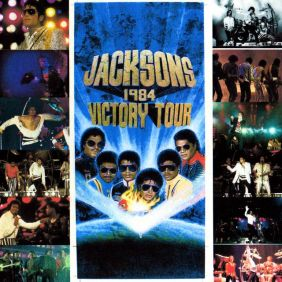 Michael Jackson and Jackson 5 Victory Tour poster 1984